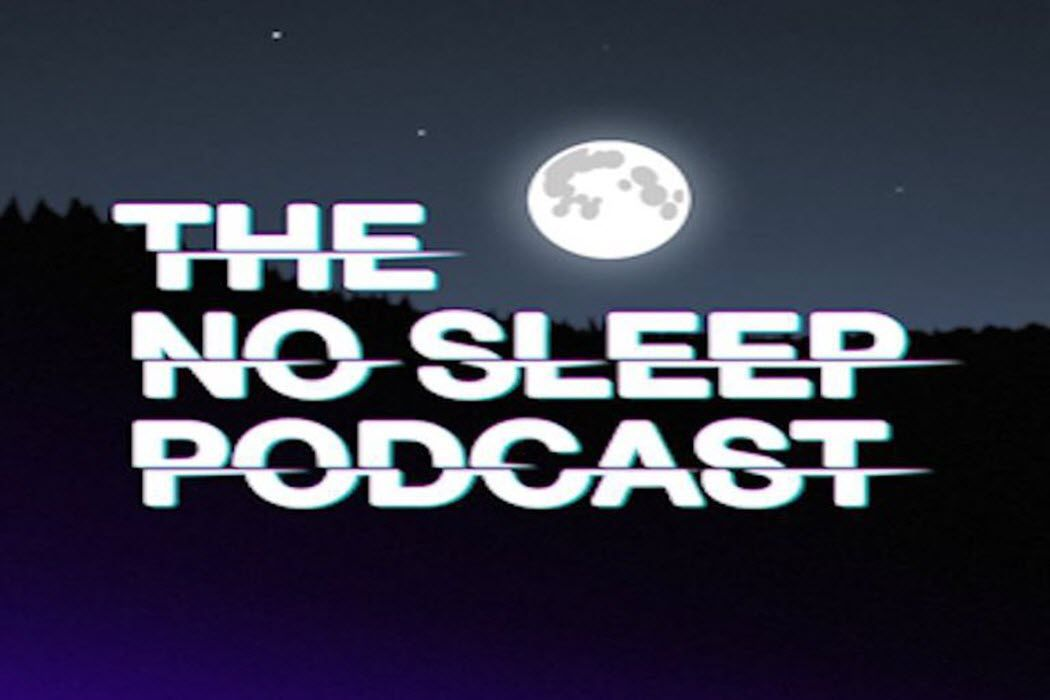 The cover art for 'The No Sleep Podcast'.