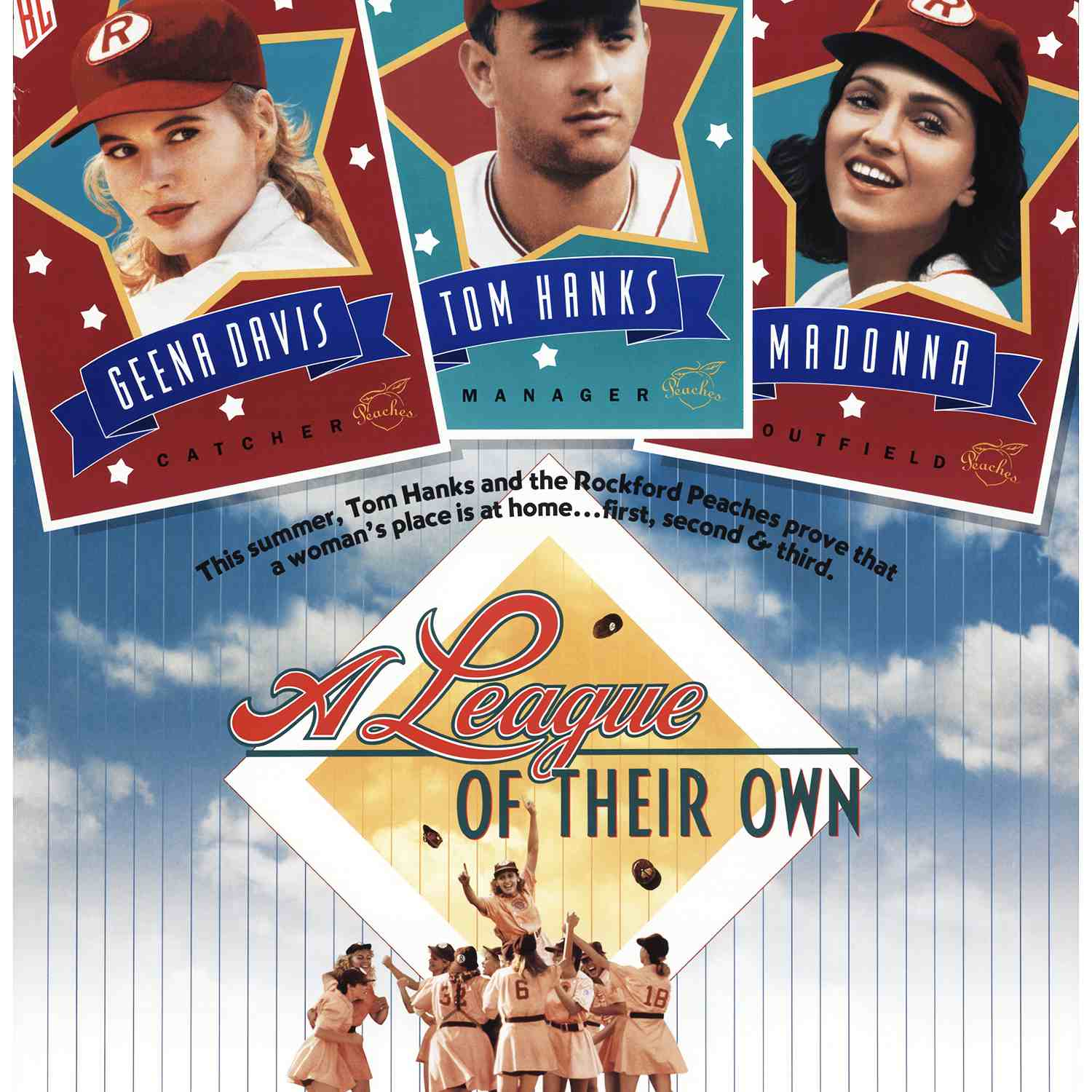 Promotional image for the film A League of Their Own