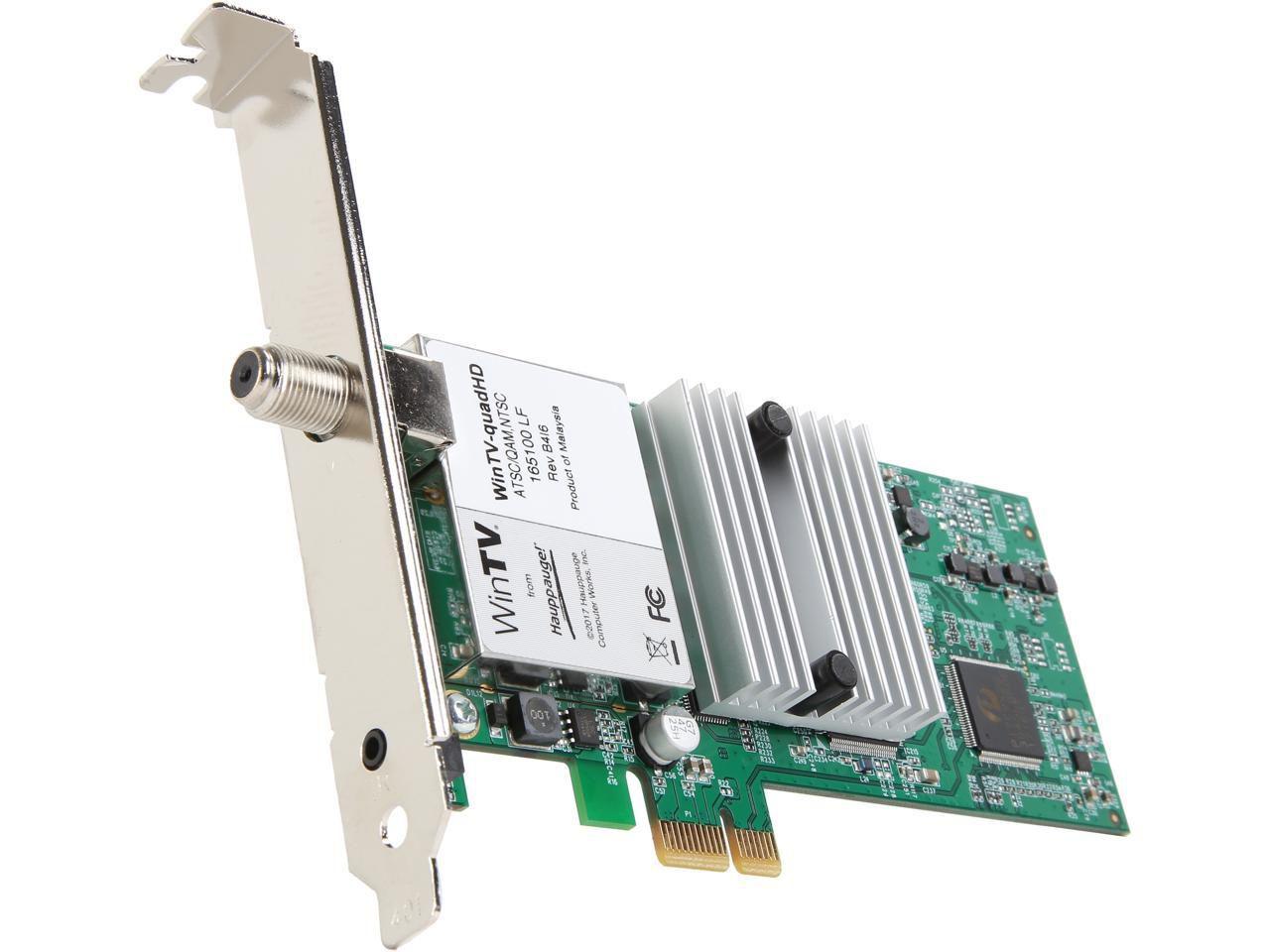 Hauppauge WinTV-quadHD (1609) Four Tuner Digital TV Receiver
