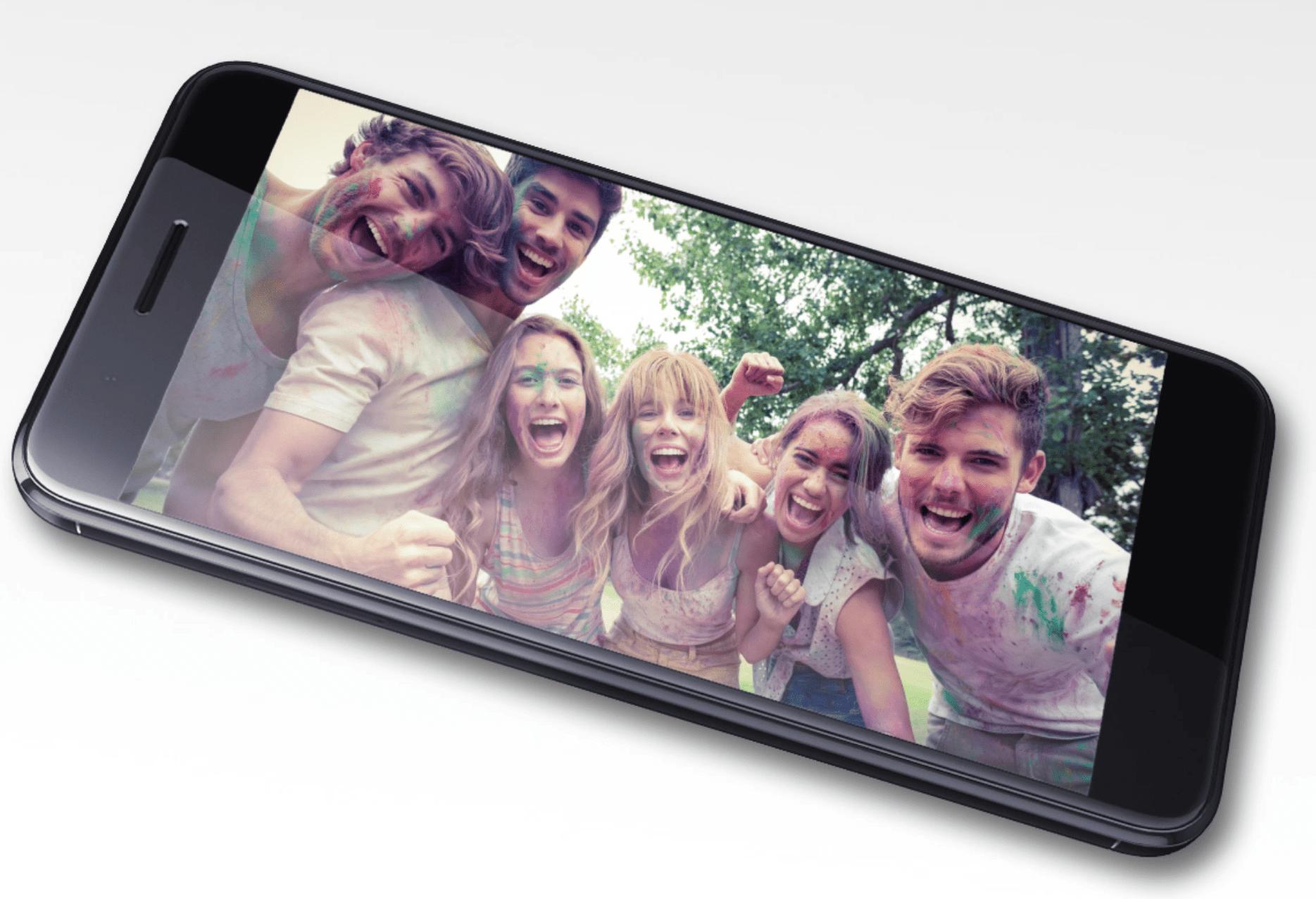HTC One X10 smartphone.