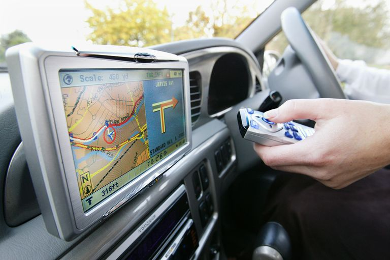 Automobile's GPS Navigation System