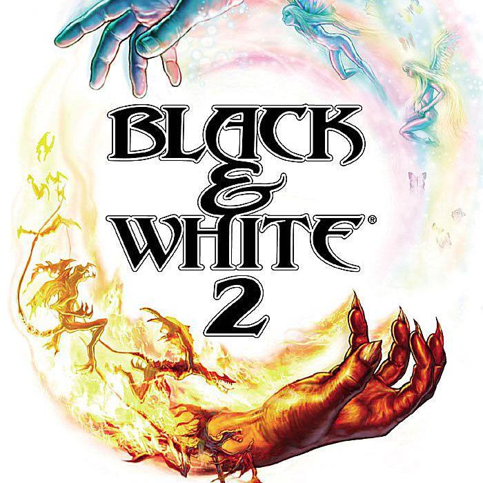 Screenshot of the Black & White 2 cover.