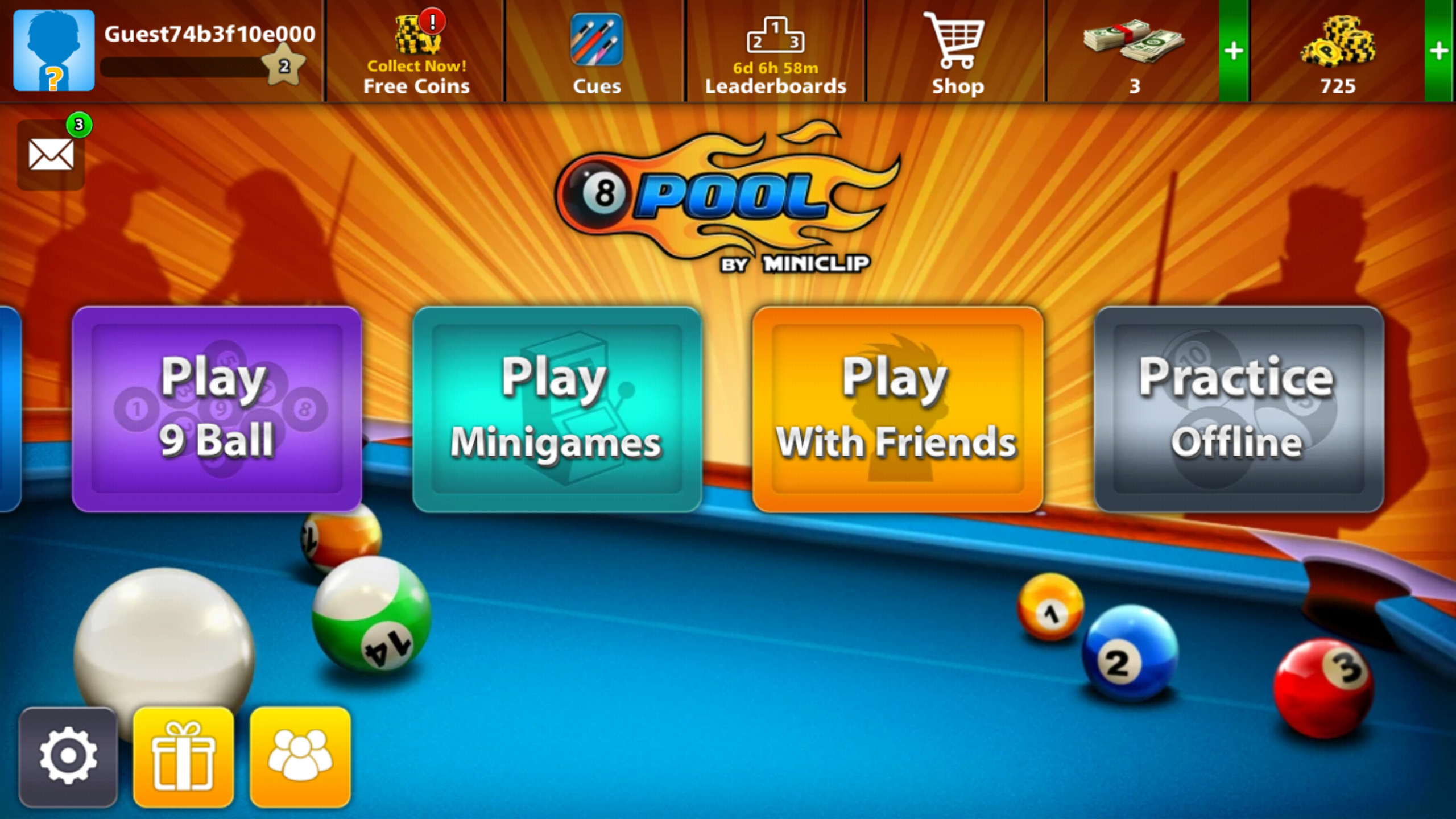 8 ball quick fire pool multiplayer online