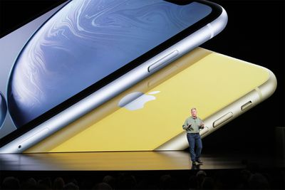 Phil Schiller at the iPhone XS and XR Keynote