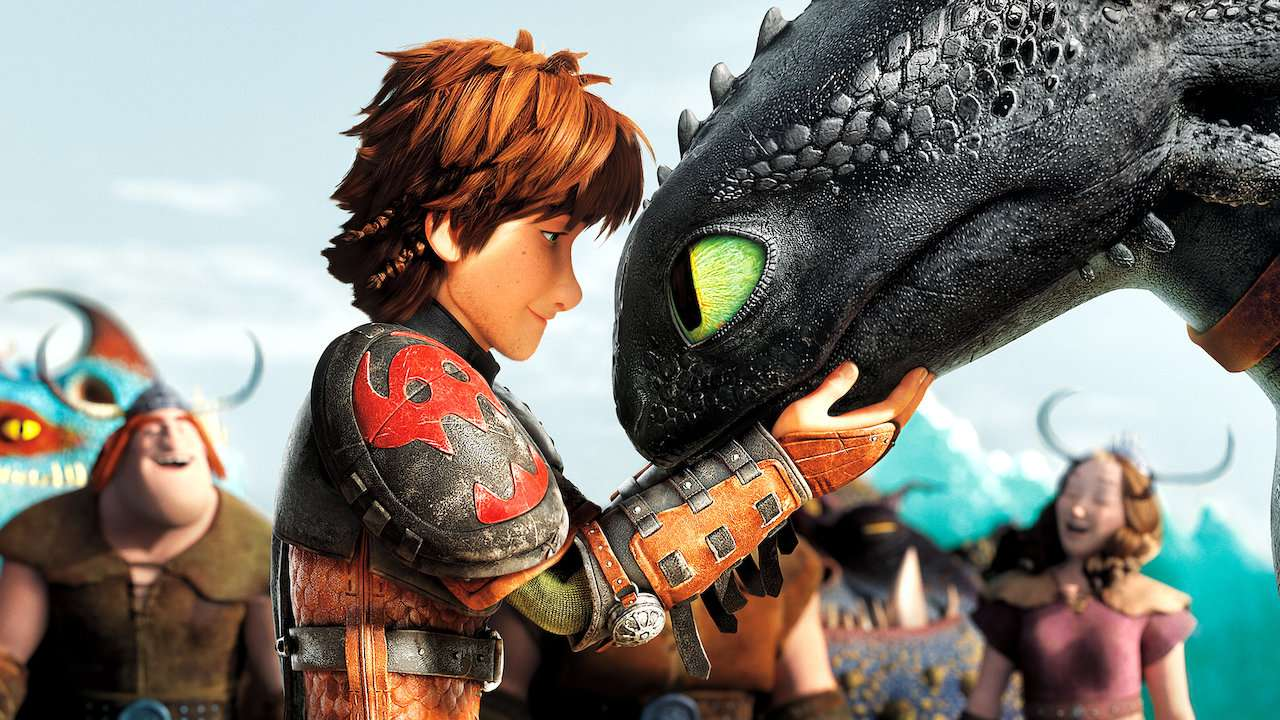 How to Train Your Dragon 2 animated adventure movie