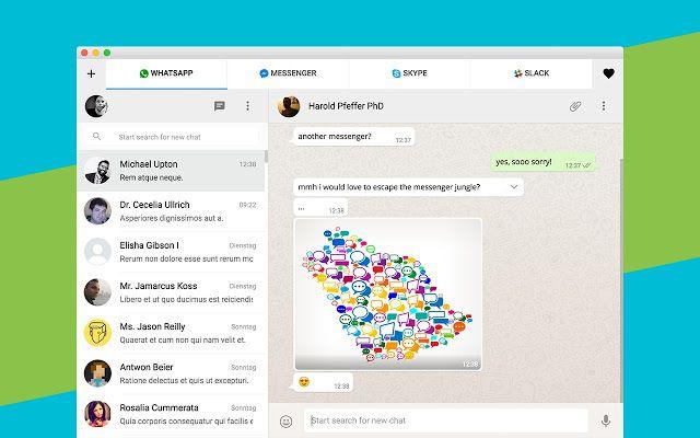 All-in-One Messenger Chromebook app