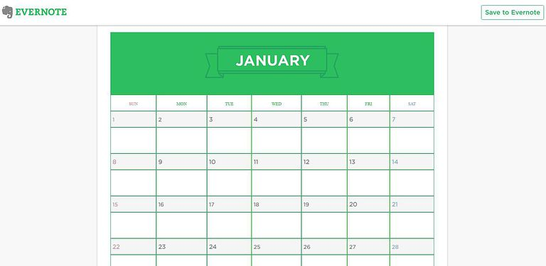 Evernote Calendar Tricks and Templates for Your New Year