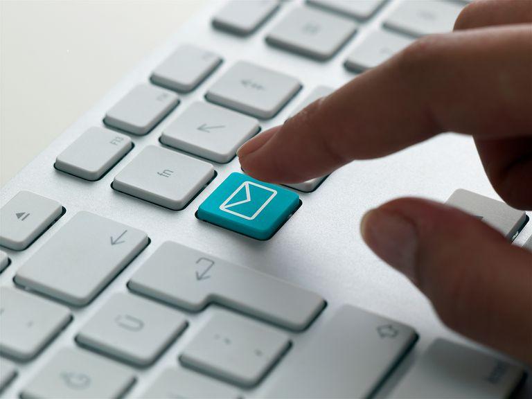 keyboard message, mail