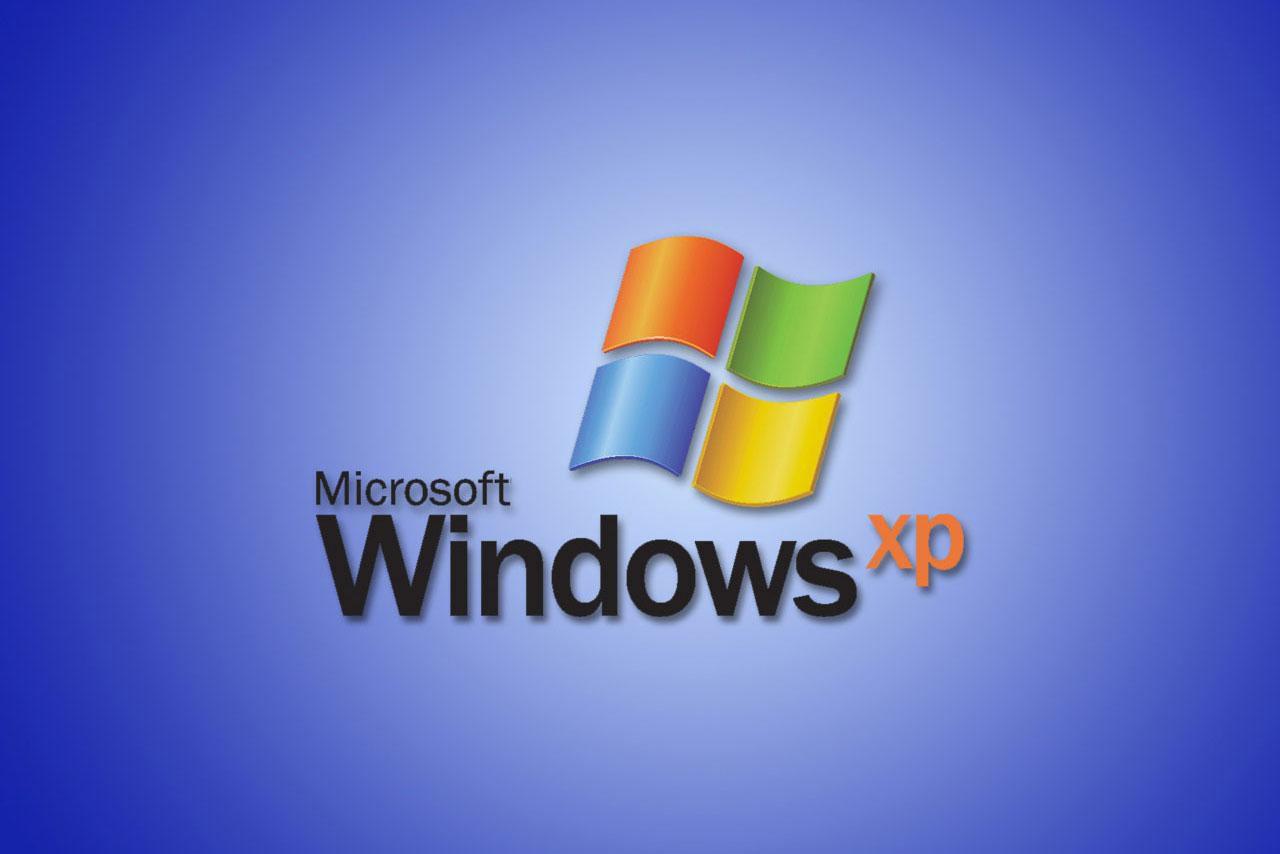 Windows XP logo screen
