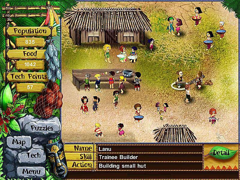 Screenshot of Virtual Villagers