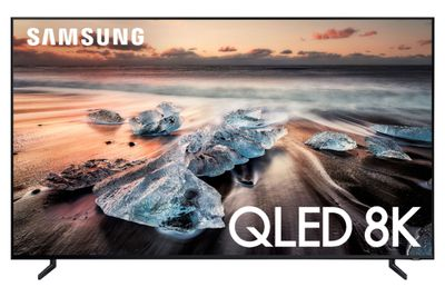A QLED TV by Samsung
