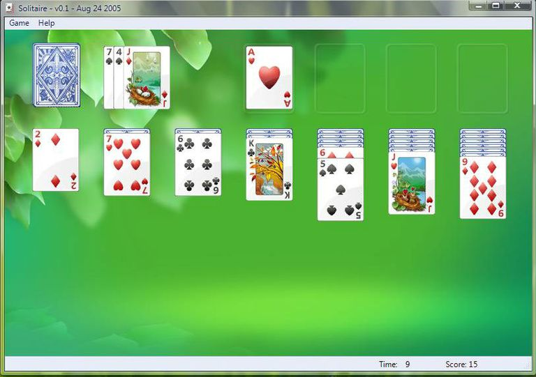 games included with microsoft windows vista