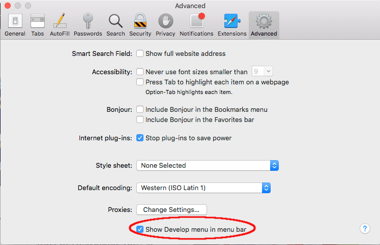 How to Activate and Use Responsive Design Mode in Safari 9