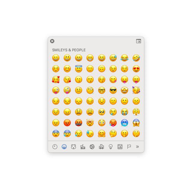 Emoji Viewer Mac iOS