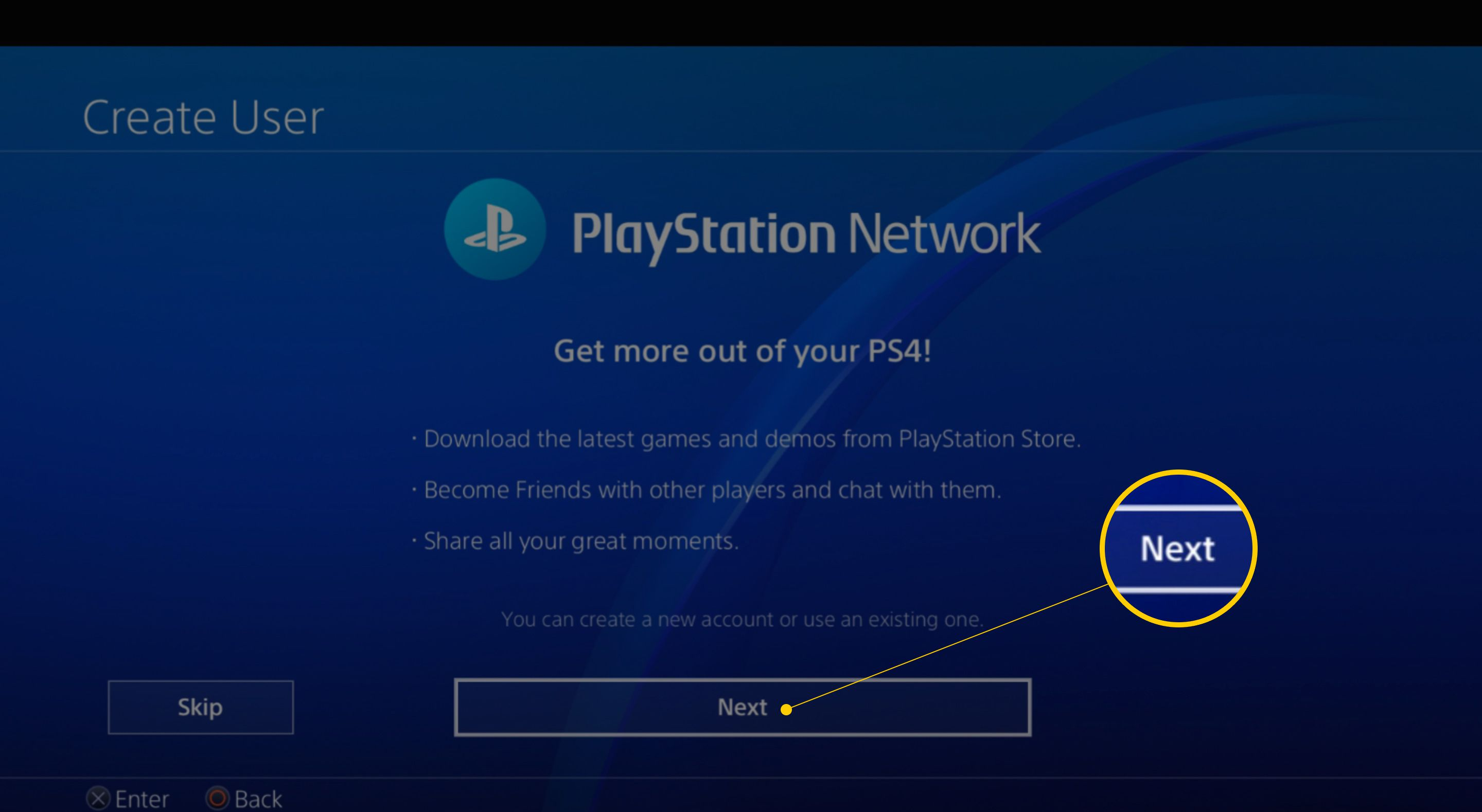 How To Create A Playstation Network Account