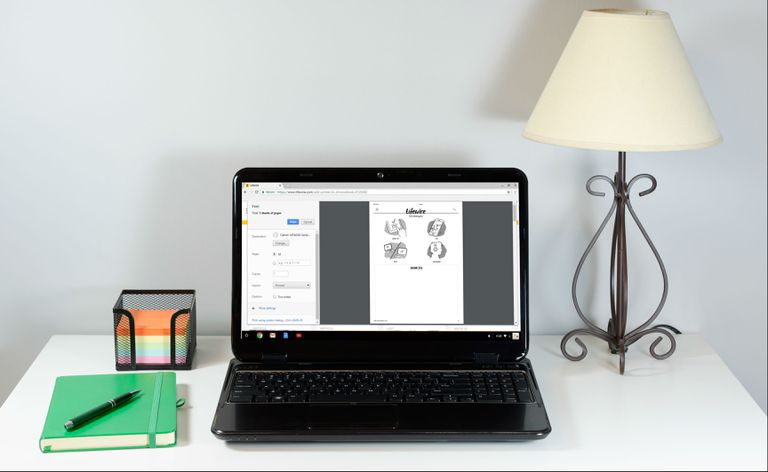 how to print from a chromebookB