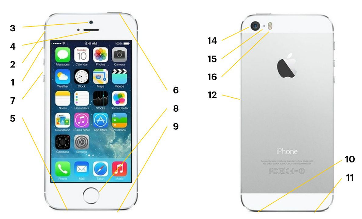 Anatomy Of The Iphone 5s Hardware
