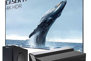 Hisense 100-inch smart laser TV