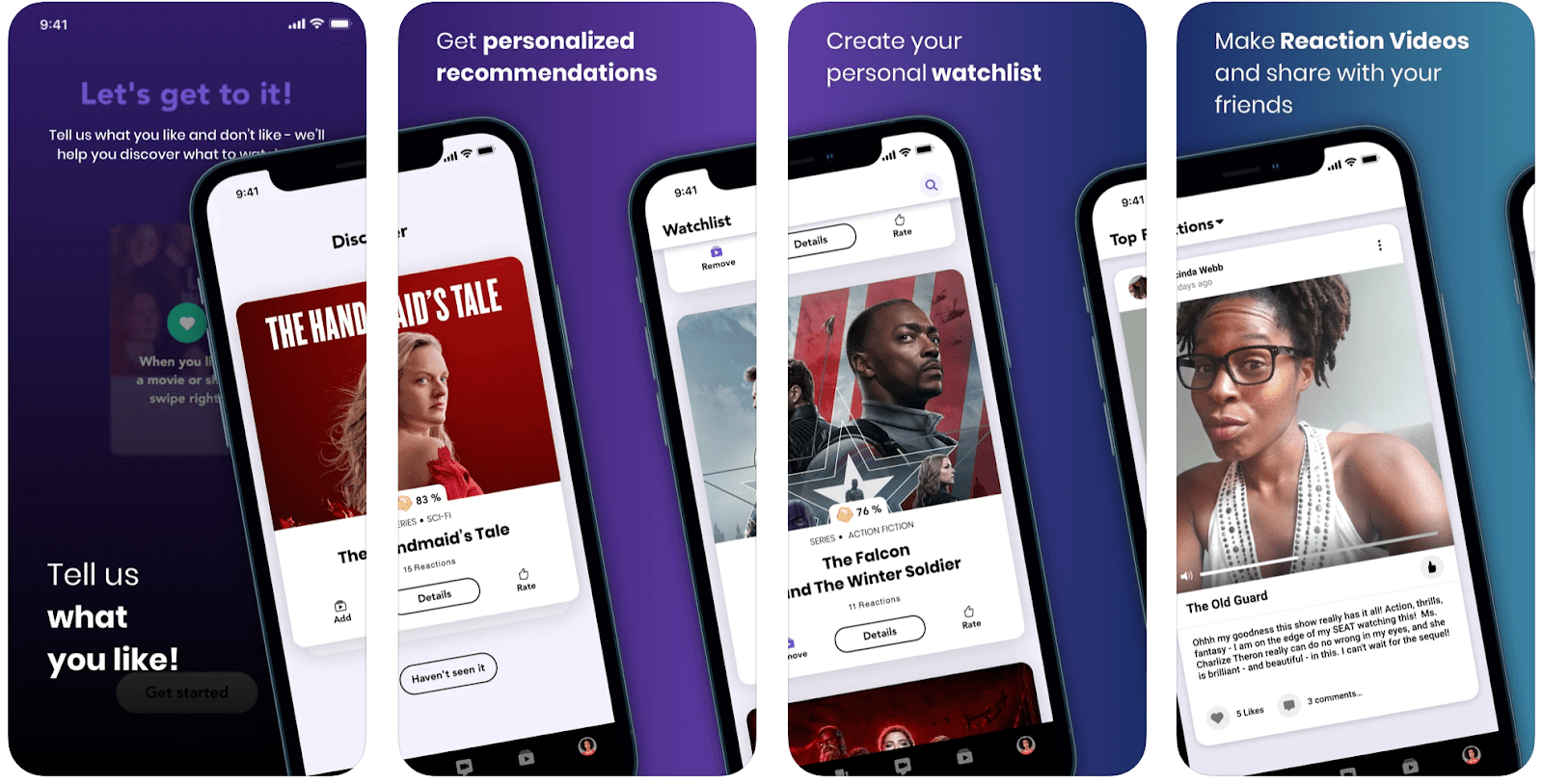The PopViewers app overview that appears on the Apple Store.