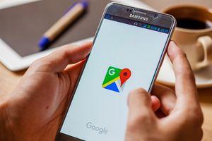 Google Maps on Cellphone