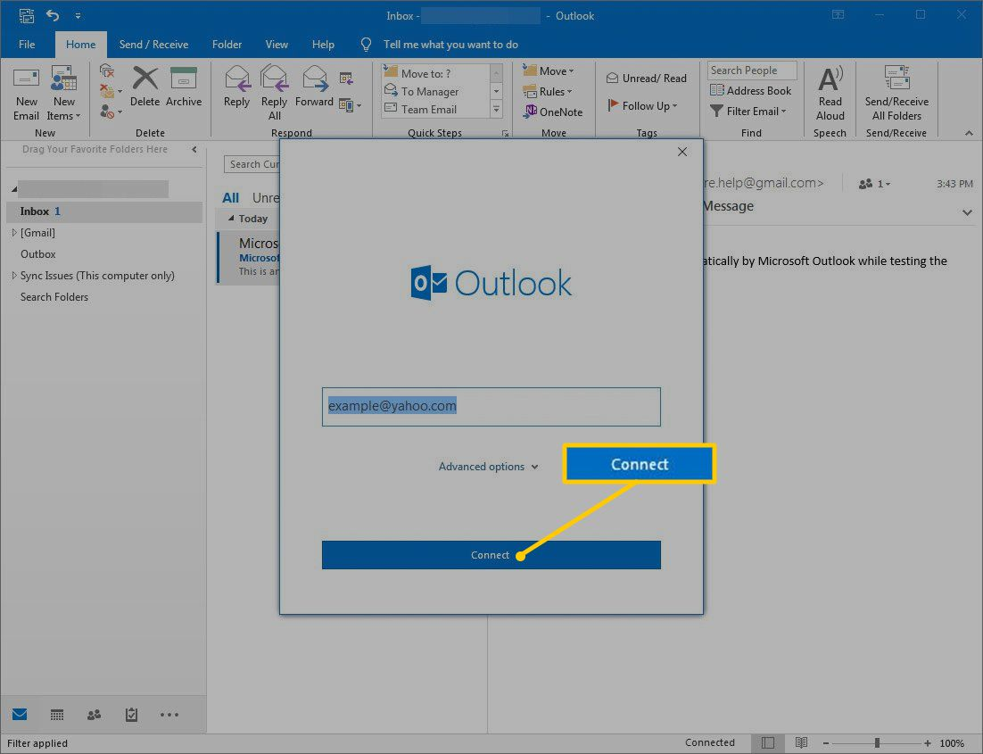 How to Access Yahoo Mail with Outlook