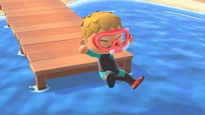 Animal Crossing: New Horizons summer update official screenshot