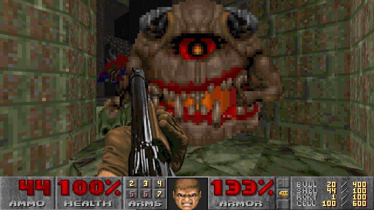 PC, 1995 Doom II Game