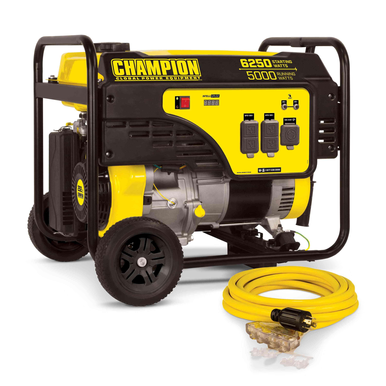 Champion 5000-Watt Portable Generator