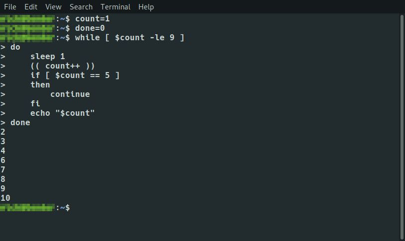 Bash If statement in While loop