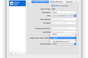 Select the preferred server from the drop-down list screenshot