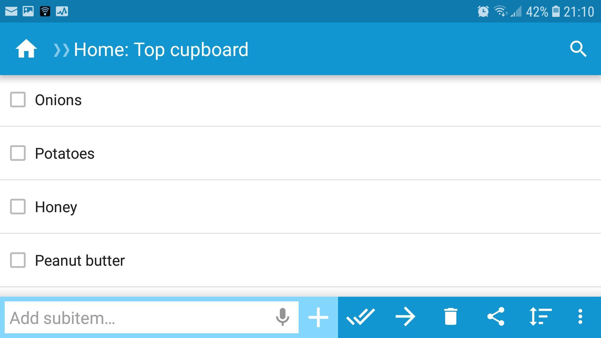 Listing It! screenshot