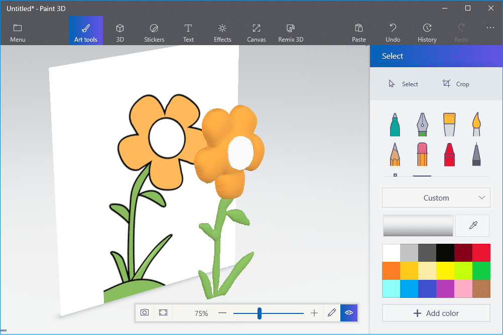 5 Ways to Create 3D Art Using the Paint 3D Toolbar