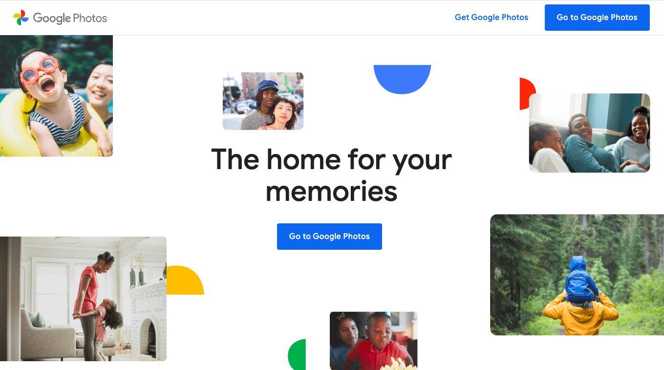 Google Photos free photo hosting site