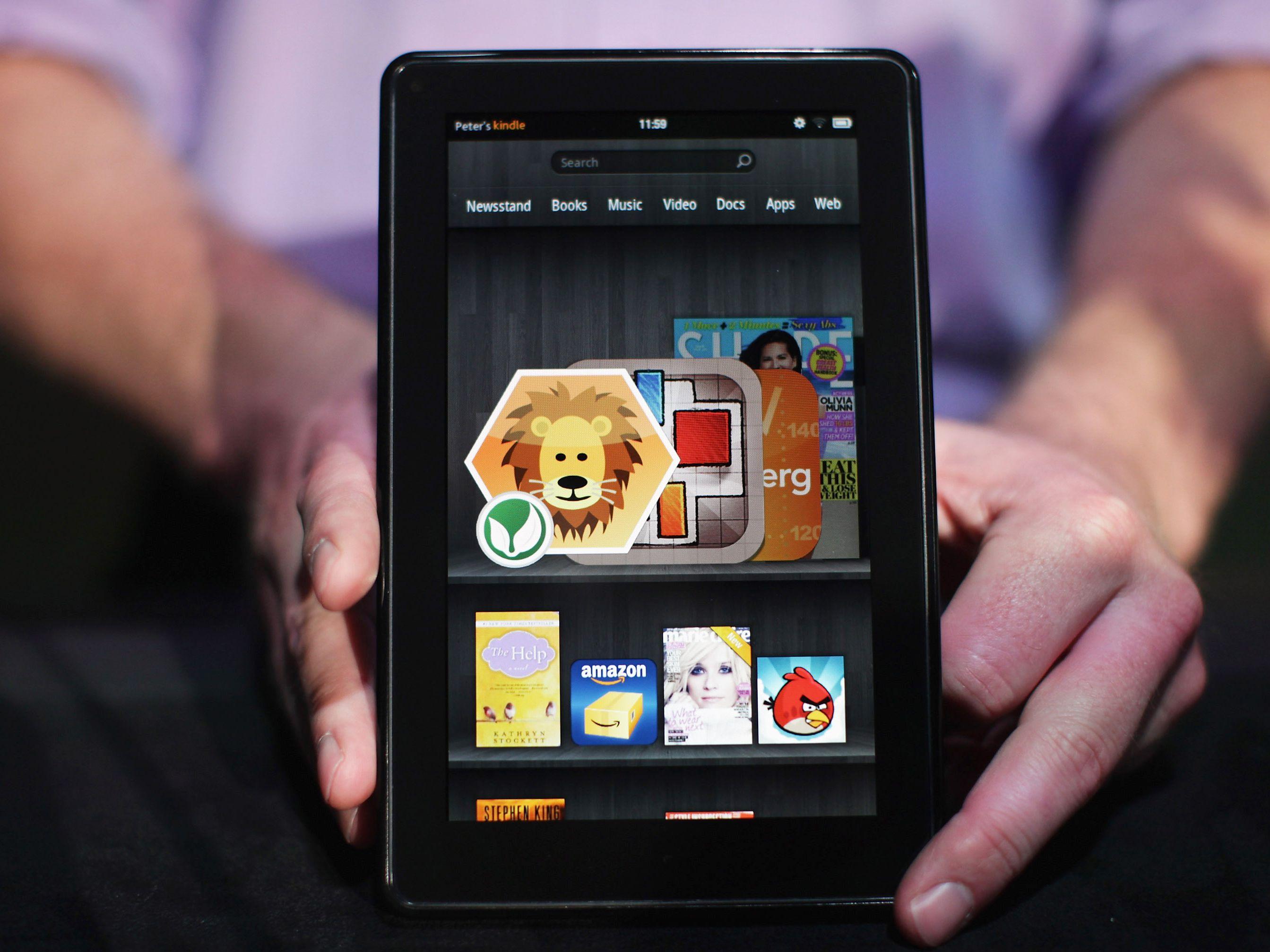 The Amazon Kindle Fire vs the Apple iPad 2