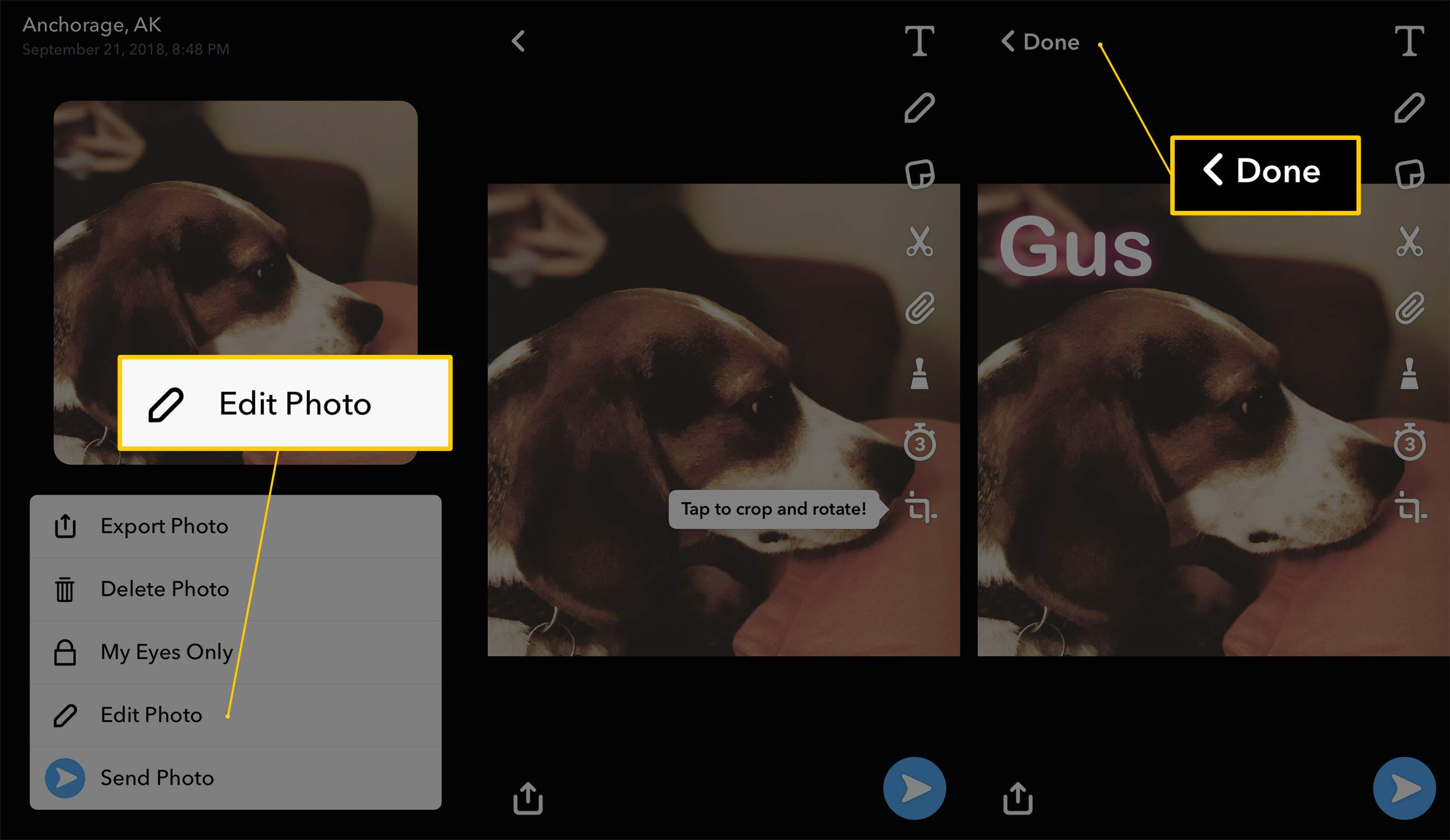 Here's How to Upload Saved Photos or Videos to Snapchat
