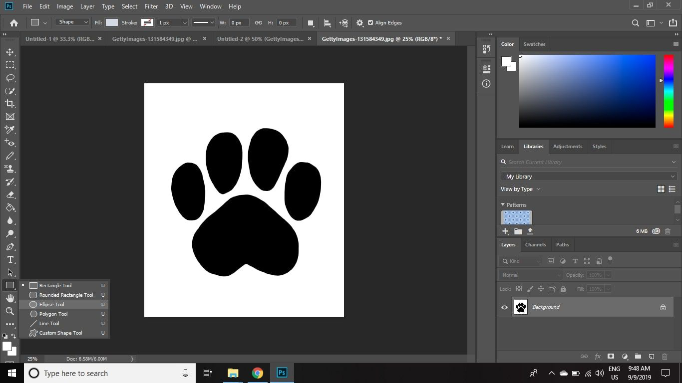 How To Draw Circle In Photoshop Cc 2019