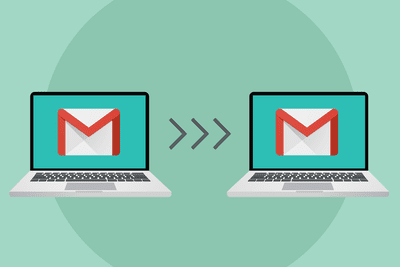 Copying mail from one Gmail account to another