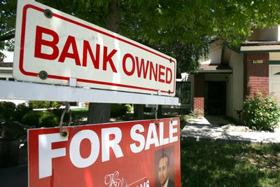 Bank Owned for sale sign