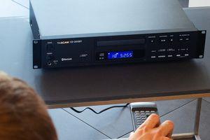 Tascam CD-200BT Rackmount CD Player