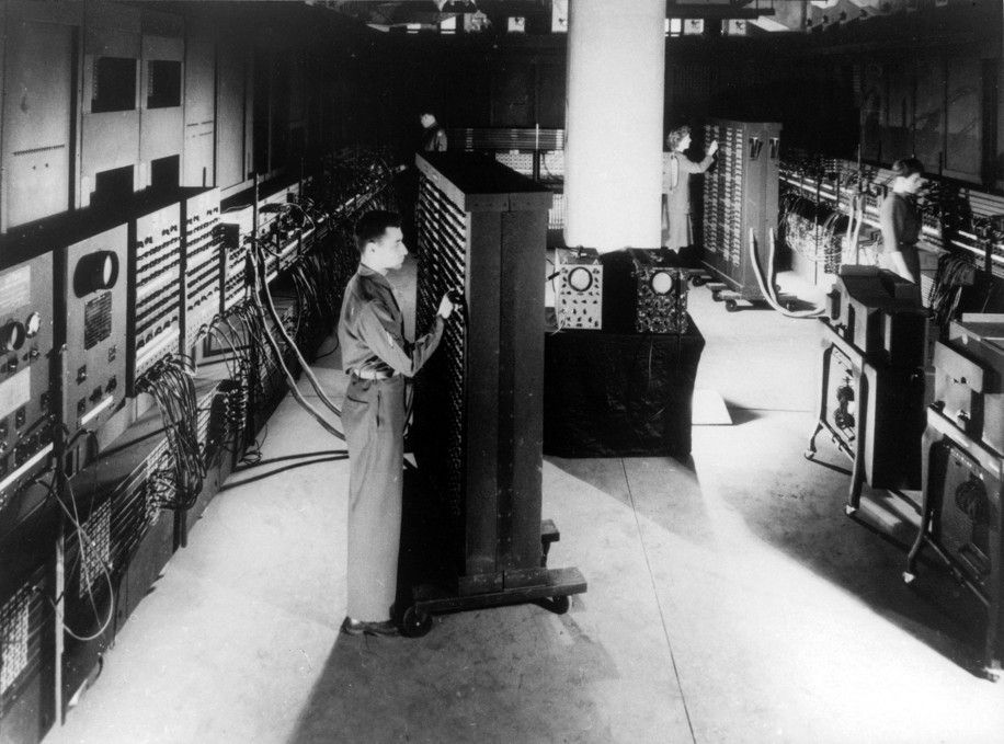 ENIAC as seen at the Moore School