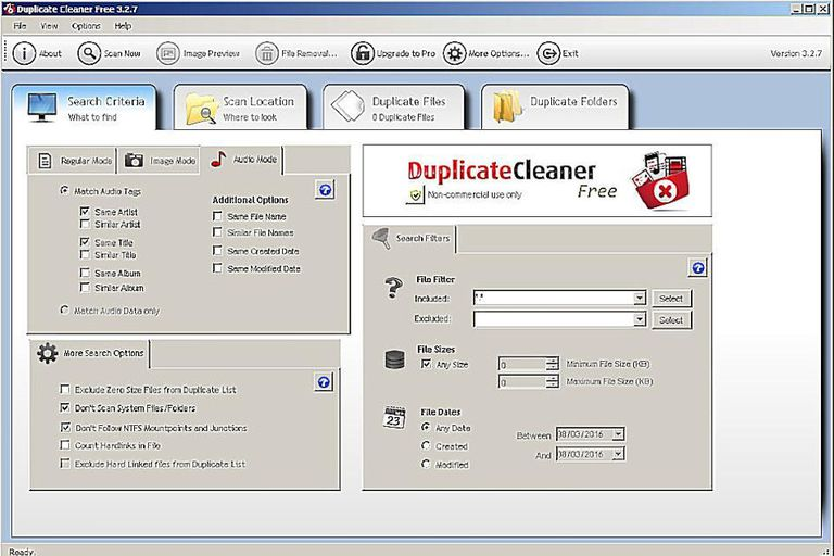 Screenshot of Duplicate Cleaner