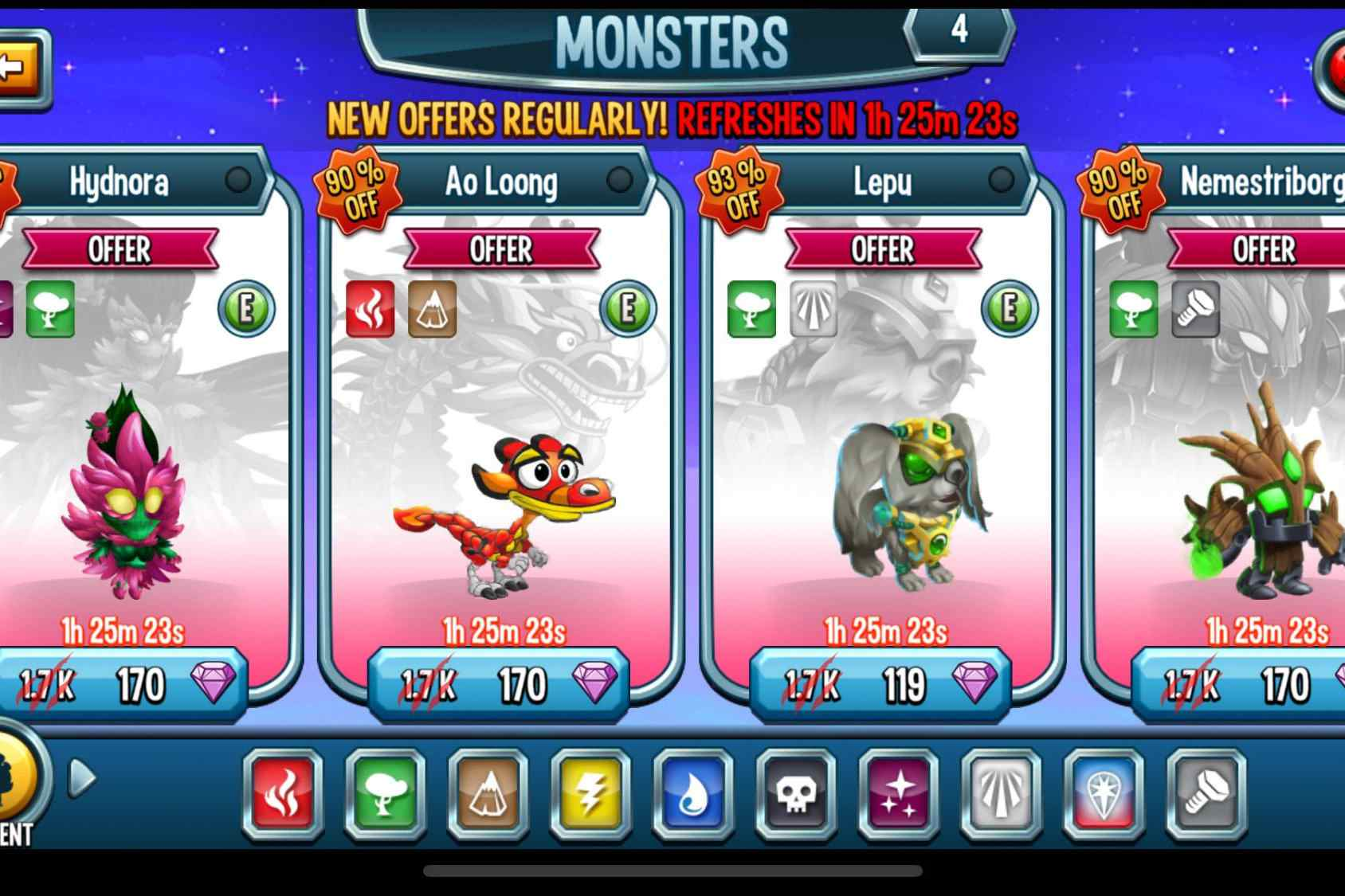 Top Ten Monster Legends Tips and Tricks
