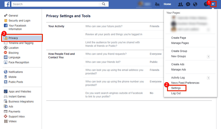 Facebook Privacy Settings Made Simple