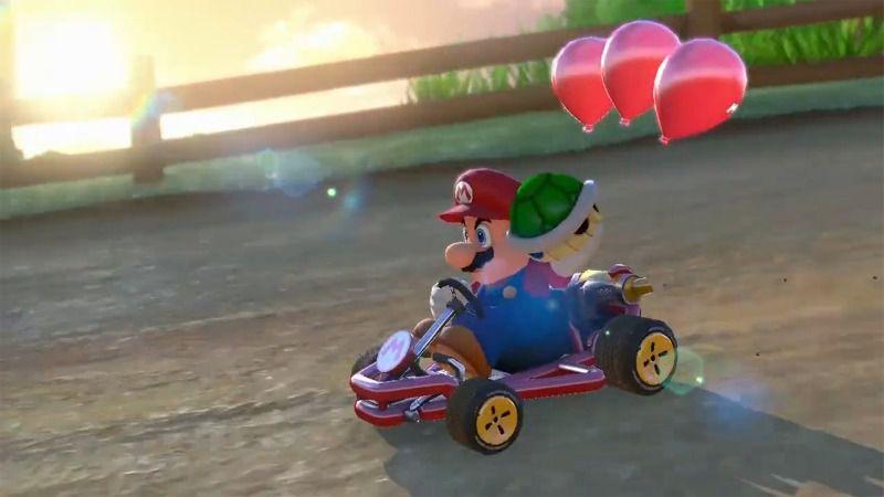 Mario Kart 8 Balloon Battle