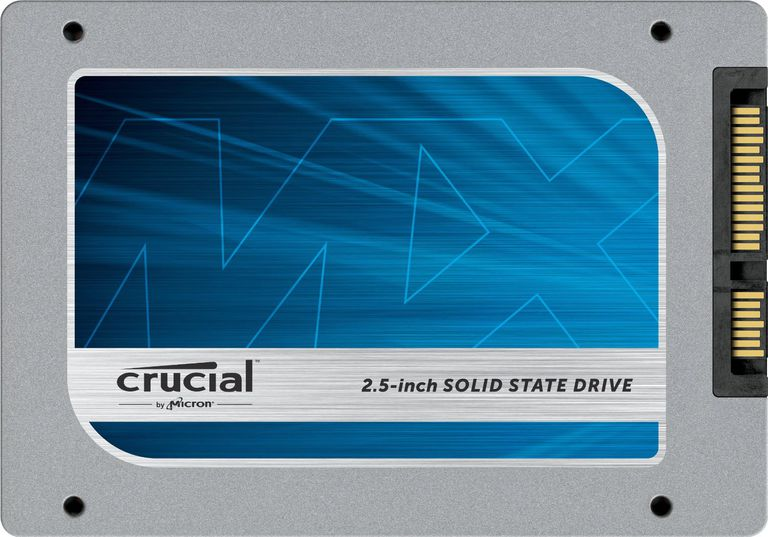 Photo of a Crucial MX100 512 GB SATA SSD