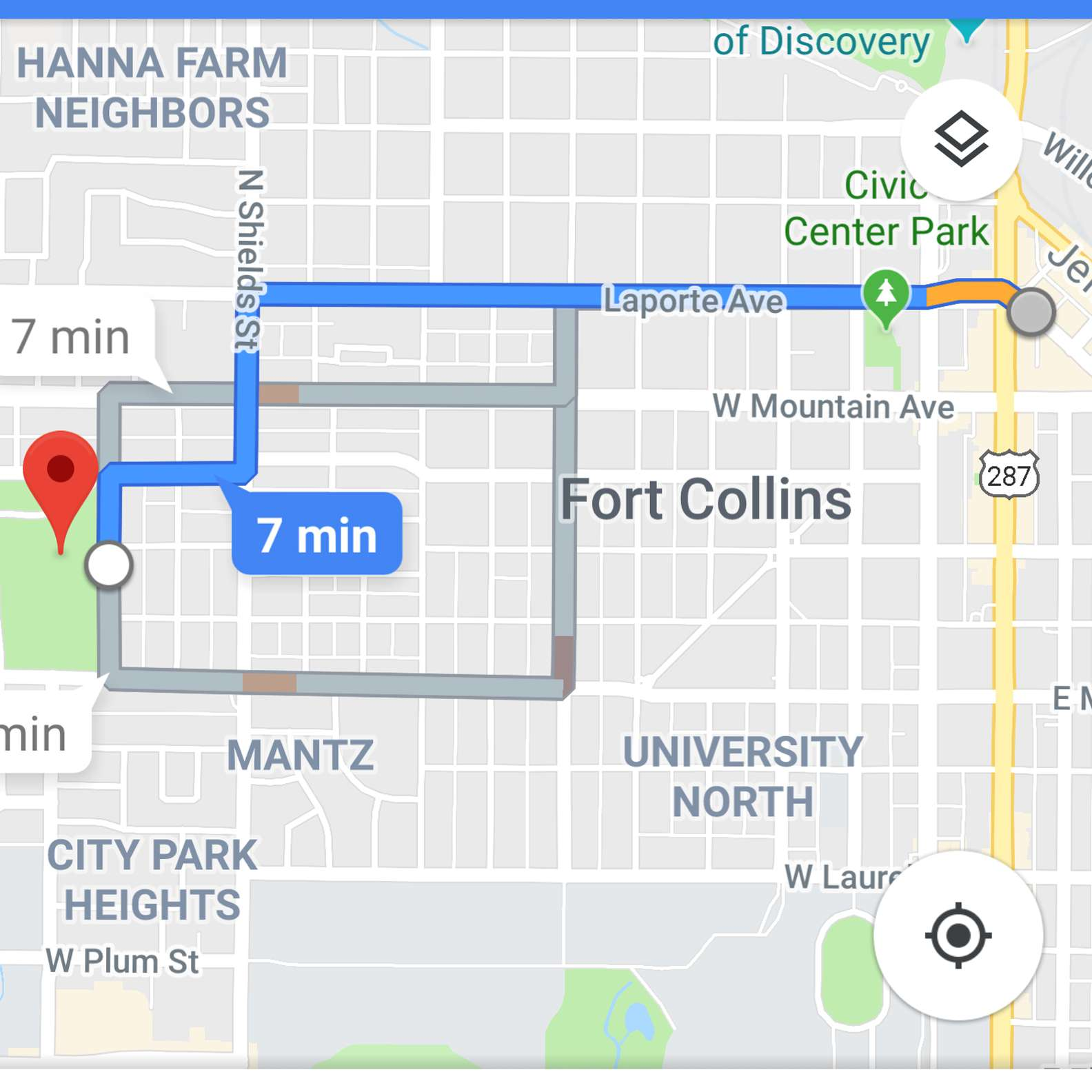 How to Drop a Pin on Google Maps Dropped Pin Google Maps on