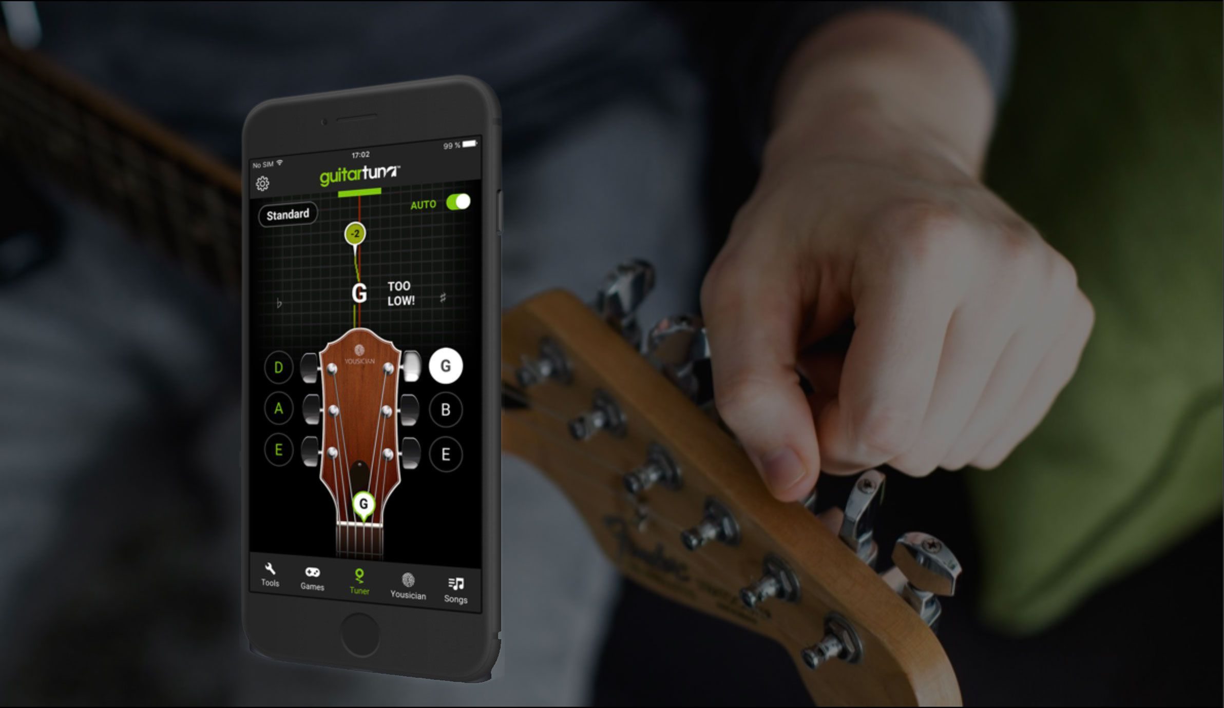 GuitarTuna for iOS