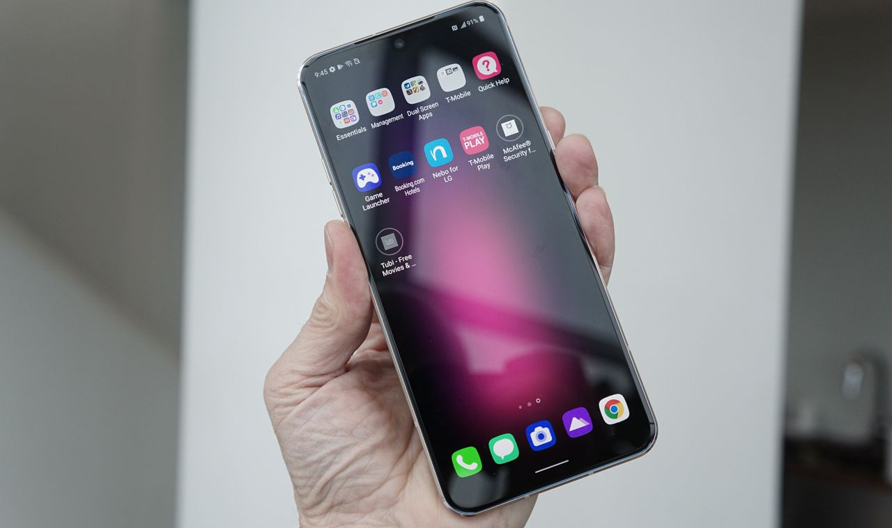 Hands-On With LG's V60 ThinQ 5G