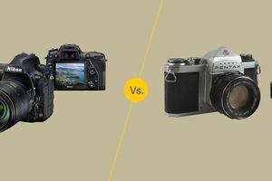 Digital vs traditional photography