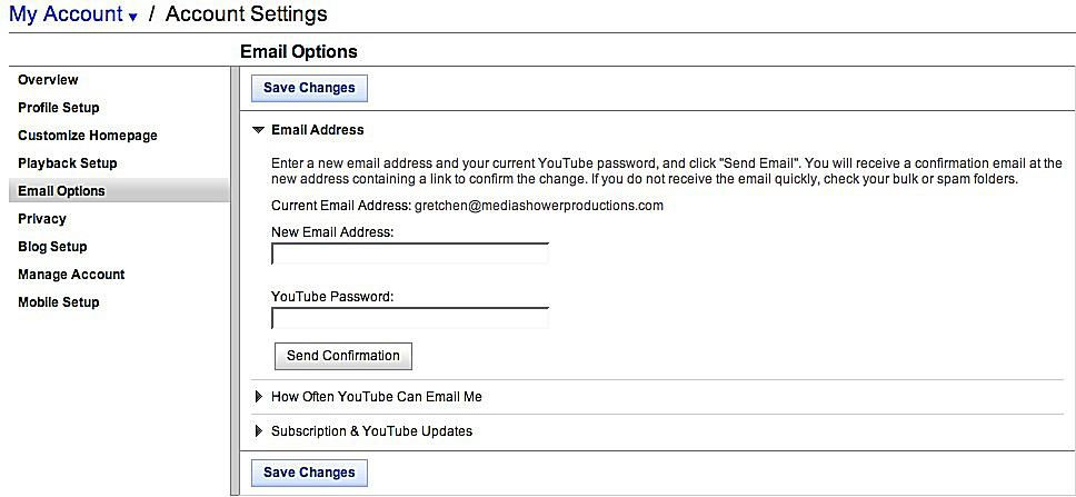 How To Manage Your Youtube Account Settings